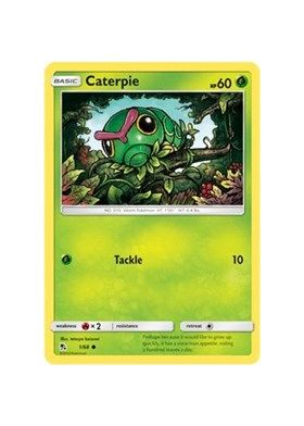 Caterpie (Reverse Holo)}
