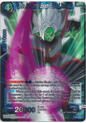 The Almighty Beam Fused Zamasu - DBS Promo Cards - Dragon Ball Super Card Game - Big Orbit Cards