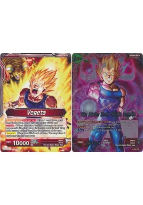 Vegeta / Vile Strike Dark Prince Vegeta - DBS Promo Cards - Dragon Ball Super Card Game - Big Orbit Cards