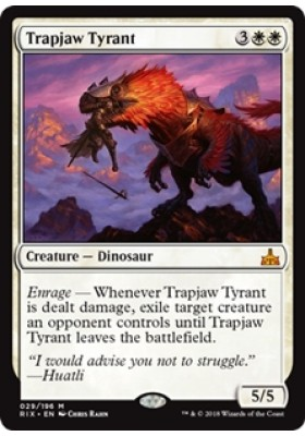 Trapjaw Tyrant (Prerelease) - Rivals of Ixalan - Magic the Gathering - Big Orbit Cards