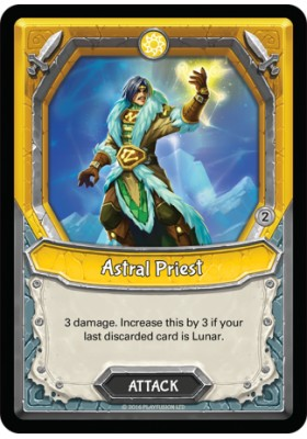 Astral Priest (Wave 2) (Foil) (Unclaimed) - Mythical - Lightseekers - Big Orbit Cards