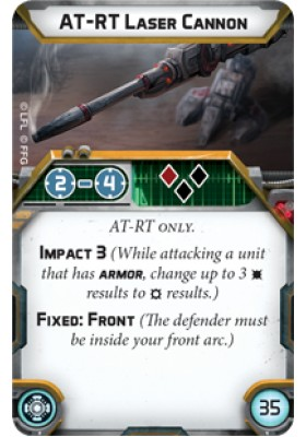 AT-RT Laser Cannon - Upgrade Card - Upgrade Cards - Star Wars Legion - Big Orbit Cards