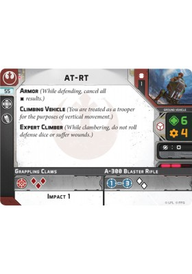 AT-RT - Unit Card - Unit Cards - Star Wars Legion - Big Orbit Cards