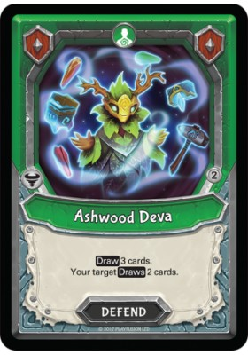 Ashwood Deva (Unclaimed) - Mythical - Lightseekers - Big Orbit Cards