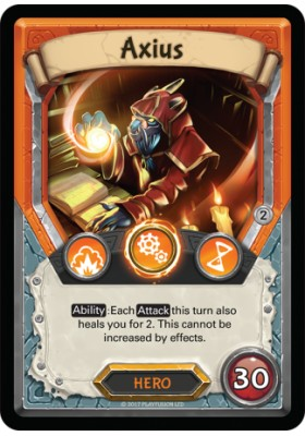 Axius (Foil) (Unclaimed) - Mythical - Lightseekers - Big Orbit Cards