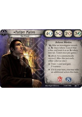 *Father Mateo - The Forgotten Age - Arkham Horror The Card Game - Big Orbit Cards