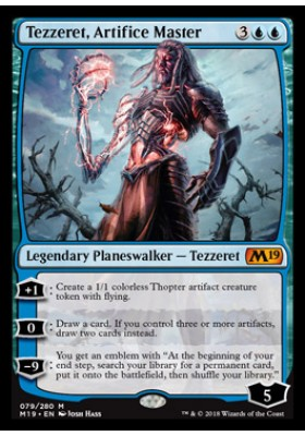 Tezzeret, Artifice Master - Core Set 2019 - Magic the Gathering - Big Orbit Cards