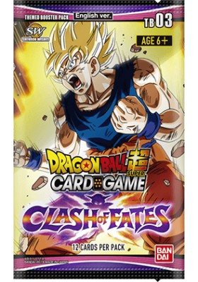 DBS CG: Clash of Fates Themed Booster 03