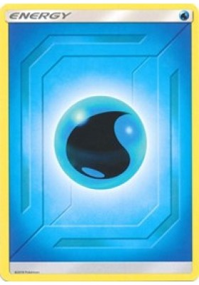 Water Energy (2019 Unnumbered) - Team Up - Pokemon - Big Orbit Cards