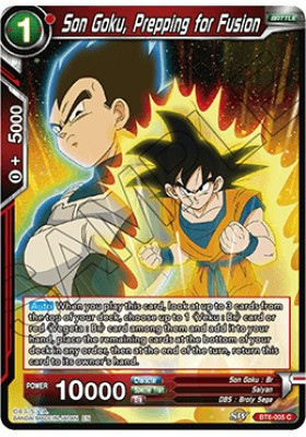 Son Goku, Prepping for Fusion - Destroyer Kings - Dragon Ball Super Card Game - Big Orbit Cards