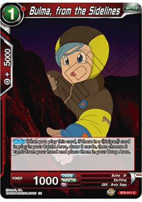Bulma, from the Sidelines - Destroyer Kings - Dragon Ball Super Card Game - Big Orbit Cards