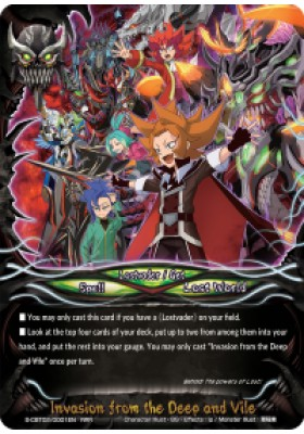 Invasion from the Deep and Vile - S-CBT02 Violence Vanity - Future Card Buddyfight - Big Orbit Cards