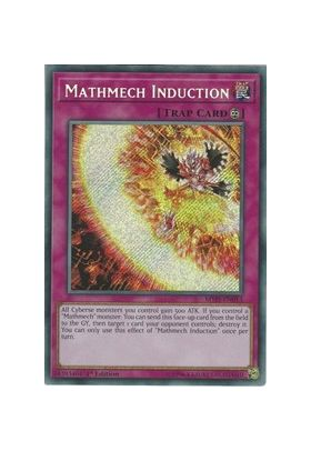 Mathmech Induction - Secret Rare (1st Edition) - Mystic Fighters - Yu-Gi-Oh! - Big Orbit Cards