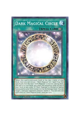 Dark Magical Circle - Common (1st Edition) - Legendary Duelists Magical Hero - Yu-Gi-Oh! - Big Orbit Cards
