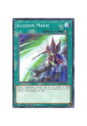 Illusion Magic - Common (1st Edition) - Legendary Duelists Magical Hero - Yu-Gi-Oh! - Big Orbit Cards