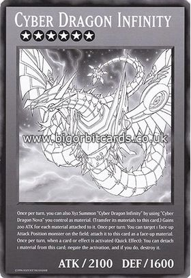 Cyber Dragon Infinity - Ultra Rare (1st Edition) - Duel Overload - Yu-Gi-Oh! - Big Orbit Cards