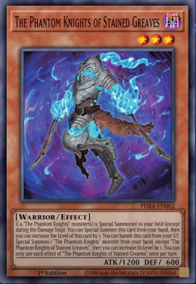 The Phantom Knights of Stained Greaves - Common (1st Edition) - Phantom Rage - Yu-Gi-Oh! - Big Orbit Cards