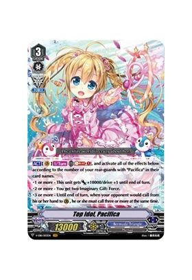 Top Idol, Pacifica - V-EB11 Crystal Melody - Cardfight Vanguard - Big Orbit Cards