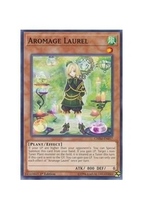 Aromage Laurel - Common (1st Edition) - Chaos Impact - Yu-Gi-Oh! - Big Orbit Cards