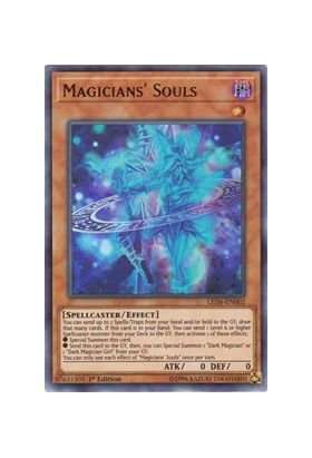 Magicians' Souls - Ultra Rare (1st Edition) - Legendary Duelists Magical Hero - Yu-Gi-Oh! - Big Orbit Cards