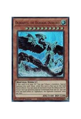 Ogdoabyss, the Ogdoadic Overlord (CR) - Collector's Rare (1st Edition) - Ancient Guardians - Yu-Gi-Oh! - Big Orbit Cards