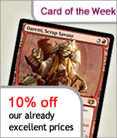 10% off all MtG Stock