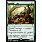 Carnage Tyrant (Foil) - Ixalan - Magic the Gathering - Big Orbit Cards