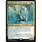 Arahbo, Roar of the World [Oversized Foil] - Commander 2017 - Magic the Gathering - Big Orbit Cards