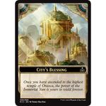 City's Blessing Token - Rivals of Ixalan - Magic the Gathering - Big Orbit Cards
