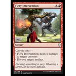 Fiery Intervention - Dominaria - Magic the Gathering - Big Orbit Cards